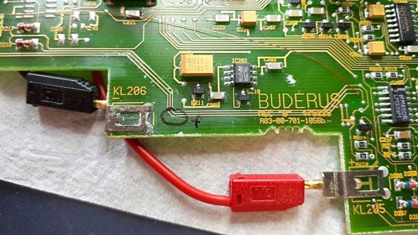 Buderus Ecomatic 4000 mit Display Fehler