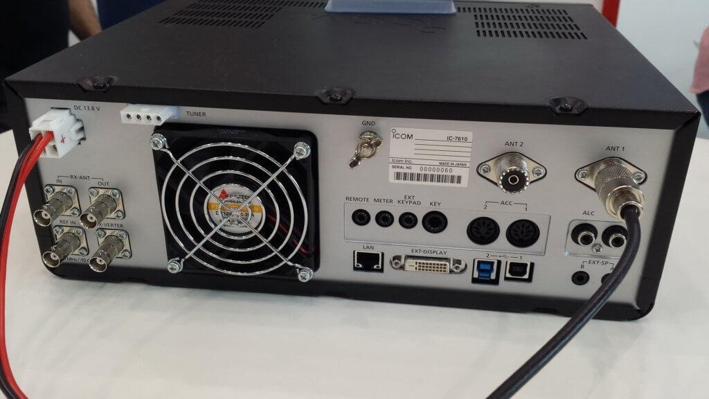 IC-7610 Overflow OVF