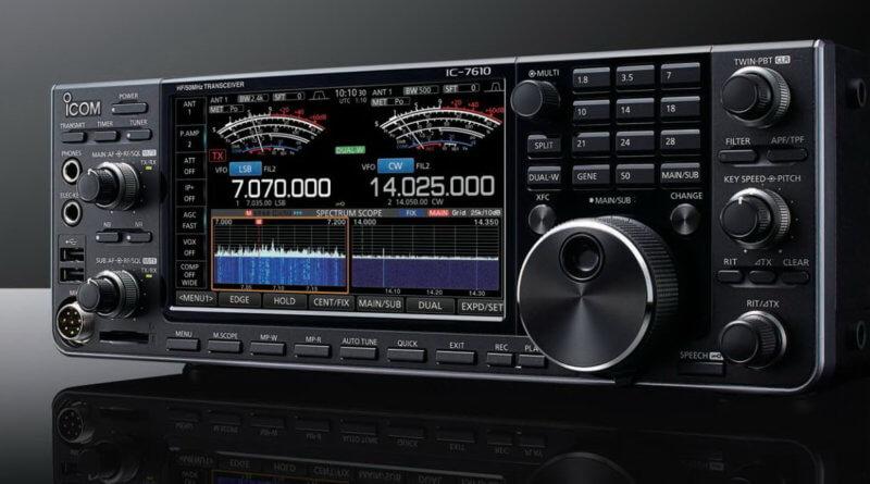 Icom IC-7610 Vorderseite front
