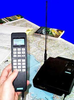 Umbau des Autotelefons Siemens C5